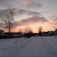 февральский закат, Дедовск