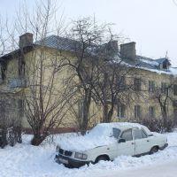 Дедовск. Дом 1950-х годов постройки. Dedovsk. House of the 1950s building, Дедовск