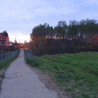 Мостик над оврагом в Дедово, Дедовск