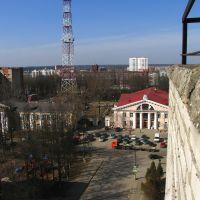 Вид на площадь перед ДК, Дедовск