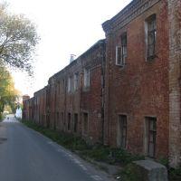 Внешний периметр монастыря., Джержинский