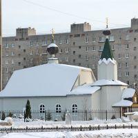 Дзержинский. Церковь Макария, митрополита Алтайского, Джержинский
