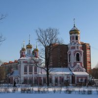 Church (Церковь Сретения Господня) in winter 2, Дмитров