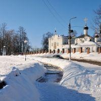Церковь Спаса Нерукотворного в усадьбе Котово-Спасское, Долгопрудный