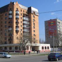 Дом №61 по Каширскому шоссе - Районная библиотека / House №61 on Kashirskое Highway - Regional Library, Домодедово