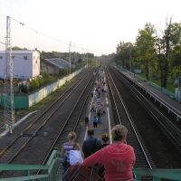 """Платформа ж/д станции """"Дорохово"""", Дорохово"""