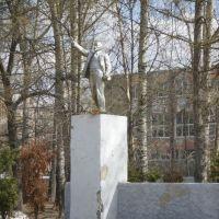 Lenin statue in Drezna, Дрезна