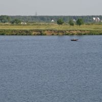 Dubna, Volga river, July-2008, Дубна