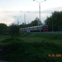 Вечерняя электричка/Suburban train., Дубна