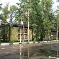 Dubna: Houses on Dachnaia st., Дубна