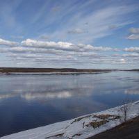 Volga river, Дубна