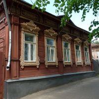 Резные наличники., Егорьевск