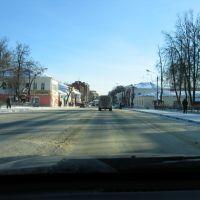 Егорьевск из окна авто, Егорьевск