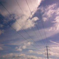 ЛЭП, wires, Железнодорожный