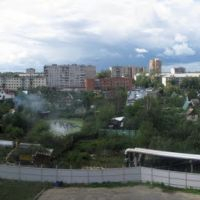 Восточная сторона Климовска