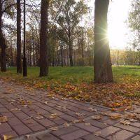Климовск. Городской парк, Железнодорожный