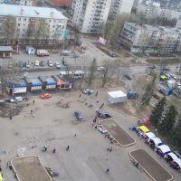 Октябрьская площадь, Железнодорожный