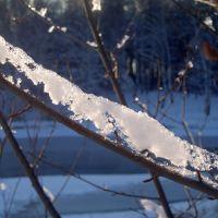 Тающий снег, Жилево