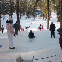 В парке, Жуковский