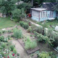 Двор с крыши / Yard with a roof, Жуковский