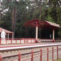 Станция Юность (бывш. Путь Ильича, 1937г.) Малой Московской железной дороги (Жуковский), Жуковский