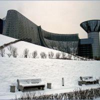 Панорама Дома Правительства Московской области / Panorama of the Government House of Moscow Region, Загорск
