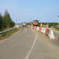 Реконструкция моста, Загорянский