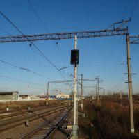 Станция Егорьевск-2, Вид в сторону ст. Ильинский Погост, Запрудная