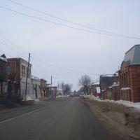 одна из улиц старого Зарайска, Зарайск