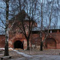Зарайск. Зарайский кремль. Егорьевская башня, Зарайск