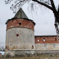 Зарайск. Зарайский кремль. Казённая башня, Зарайск