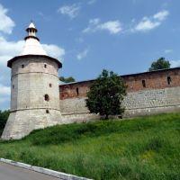 Одна из башен Зарайского кремля., Зарайск