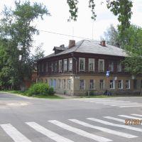 Corner of Komsomolskaya St. and Meretskov St., Зарайск