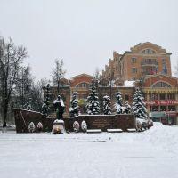 Eternal Flame (Монумент Павшим за Родину звенигородцам и воинам 5 армии Западного фронта), Звенигород