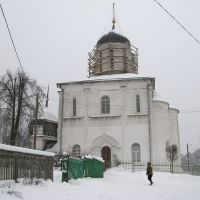 Assumption Cathedral in winter (Успенский собор) 3, Звенигород
