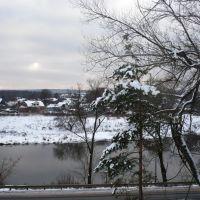 View of Zvenigorod - вид на Звенигород, Звенигород