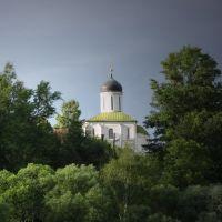 из-за реки, Звенигород