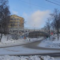 Пешеходный мост, Звенигород