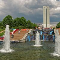 Фонтаны в парке Победы, Зеленоград