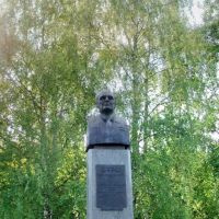 Monument to Twice Hero of Socialist Labour Alexander Shokin, Зеленоград