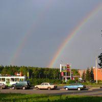 Россия, Зеленоград. Южная промзона. Радуга. Zelenograd. Rainbow., Зеленоград