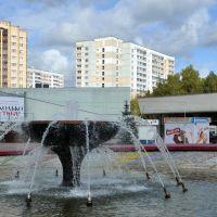Фонтан на площади Юности, Зеленоград
