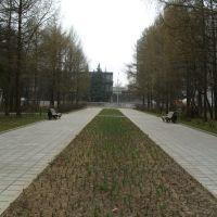 Парк перед Южной зоной, Зеленоград
