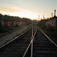 пути в гаражах, Ильинский