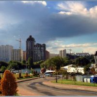 Дождевые облака идут / Rain clouds come, Калининград