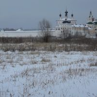 Белопесоцкий монастырь зимой 1, Кашира