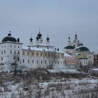 Белопесоцкий монастырь зимой 2, Кашира