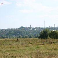 Вид на Каширу слевого берега Оки russian-church.ru, Кашира