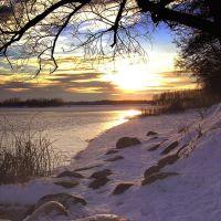 Краски зимнего заката, Керва