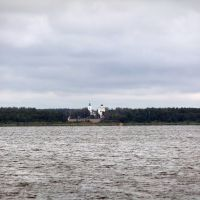 Вид на Андреевские выселки, Керва